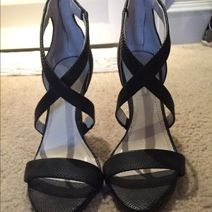 Black Strappy Heels from BCBGeneration